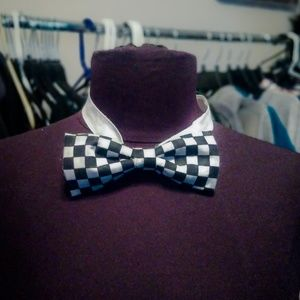 Other - Checkered Bow Tie